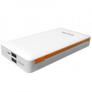 Батарея универсальная 18400 mAh White, LCD ColorWay (CW-PB184LPA2W-Q3F)