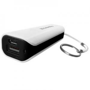 Батарея универсальная 2200 mAh White/Black ColorWay (CW-PB022LIB1BK)